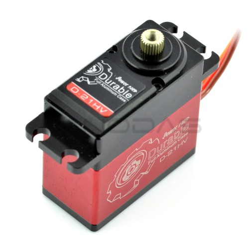 Servo PowerHD Durable D-21HV - standard with titanium modes