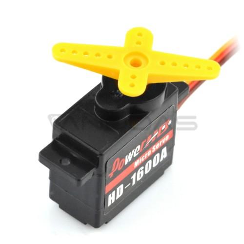 Servo PowerHD HD-1600A - micro
