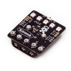 Servo variklių kontroleris micro:bit mikro kompiuteriui su 3xAAA baterijų lizdu
