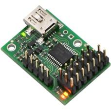 Servo Variklių Valdiklis Pololu Micro Maestro USB 6-kanalų