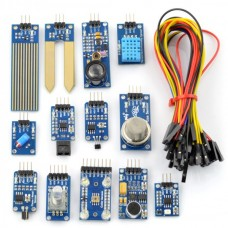 Set of 13 modules with cables for Arduino Waveshare 9467