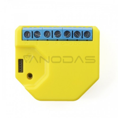 Shelly RGBW2 WiFi valdomas RGBV valdiklis 12–24VDC