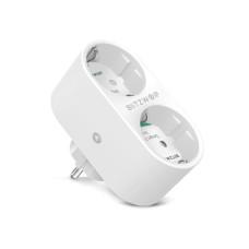 BlitzWolf išmanusis prietaisas su dviem lizdais ir energijos vartojimo matavimo funkcija WIFI 3680W