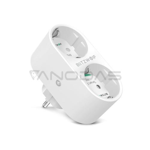 BlitzWolf BW-SHP7 WIFI Smart Dual Outlet Socket EU 3680W