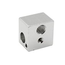 V5 Aluminum Heater Block Hot End 16x16x12mm For 3D Printer Extruder