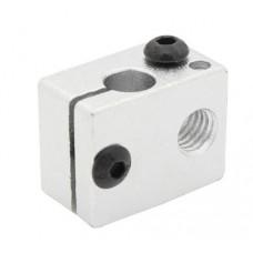 Aluminum Heater Block 20x16x12mm For E3D V6 3D Printer Hotend Heating Block