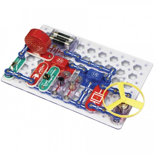 Snap Circuits Jr 100-in-1 Eksperimentų rinkinys