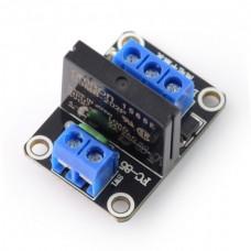 SSR relay module 2A 240VAC/ 5VDC - 1 channel