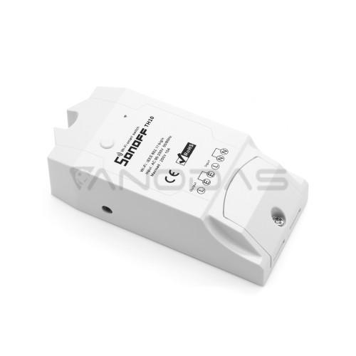 Sonoff TH10 1-kanalo išmani relė valdoma WiFi - 230VAC 2200W