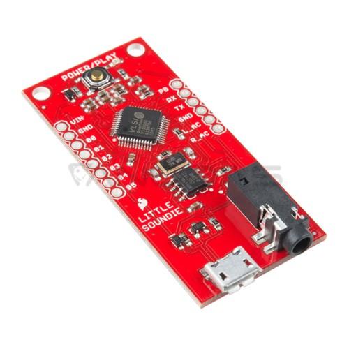 SparkFun Little Soundie Audio grotuvo modulis 3.3V-5.5V OGG/WAV micro-USB