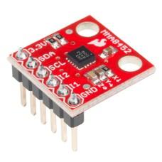 SparkFun MMA8452Q 3-jų ašių MEMS akselerometras 1.95 V to 3.6 V 6 μA – 165 μA ±2g/±4g/±8g 12-bit ir 8-bit I2C (su kontaktų juosta)