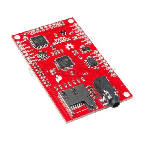 SparkFun Papa Soundie Audio grotuvo modulis 3.3V-6V SD I2C  SPI