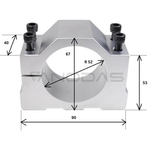 Spindle Engine holder fi 52mm