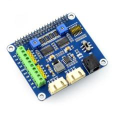 Žingsninio variklio valdiklis  28V/2.5A  Raspberry Pi Waveshare 15669 dviejų kanalų
