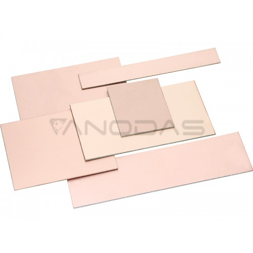 Copper clad board 125x210x1.5mm ones sided