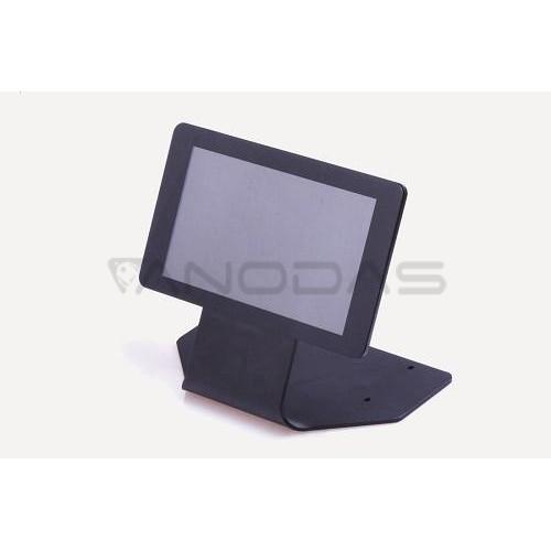 """Stovas Originaliam Raspberry Pi Ekranui 7"""" - metalinis juodas"""