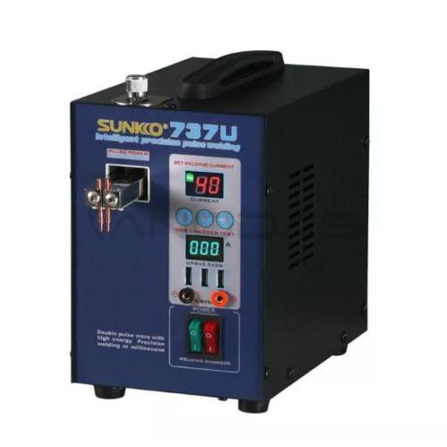 Sunkko 737u Spot Welder 2 8kw Precision Pulse Battery Spot Welding Machine Usb Charging Testing For