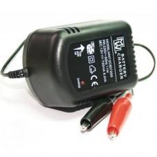 Švino akumuliatorių įkroviklis 12V 720mA su įkrovimo pabaigos indikacija