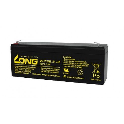 Lead Acid Battery 12V 2.3Ah 178x35x60mm LONG