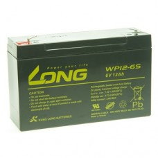 Lead-acid battery 6V 12Ah WP12-6S LONG