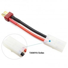 Tamiya Female to Dean Plug Male 14 AWG Silicone Wire Connector Adapter 60mm