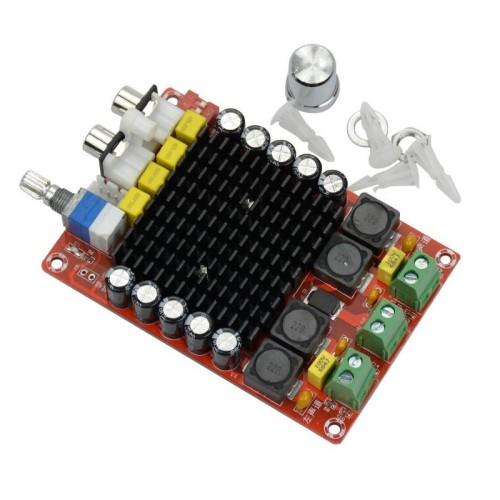 TDA7498 D klasės garso stiprintuvas - 2x100W