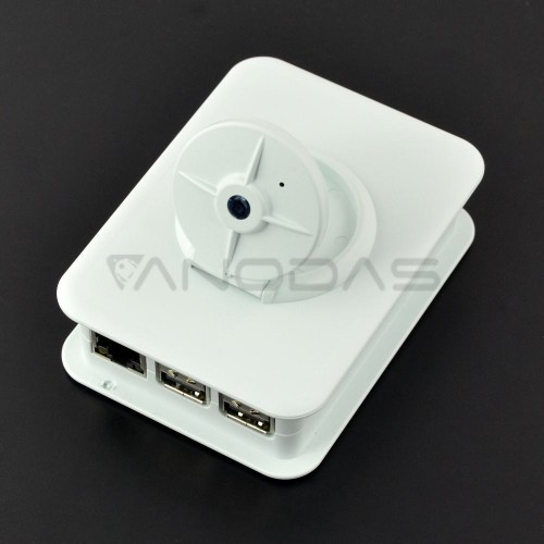 TEKO Case For Raspberry Pi Model 3/2/B+ Camera (white)
