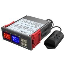 Termostatas STC-3028 - drėgmės ir temperatūros reguliatorius