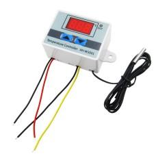 Termostatas W3001 matavimo diapazonas nuo -50°C iki 110°C - 12VDC