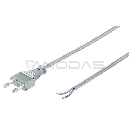 Tinklo kištukas su kabeliu 2x0.75 1.5m
