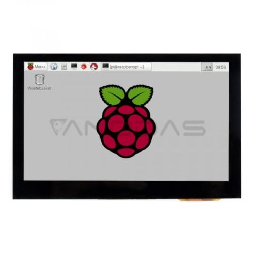 Waveshare Jutiklinis Ekranas B Raspberry Pi Mikrokompiuteriui - LCD IPS 4.3''