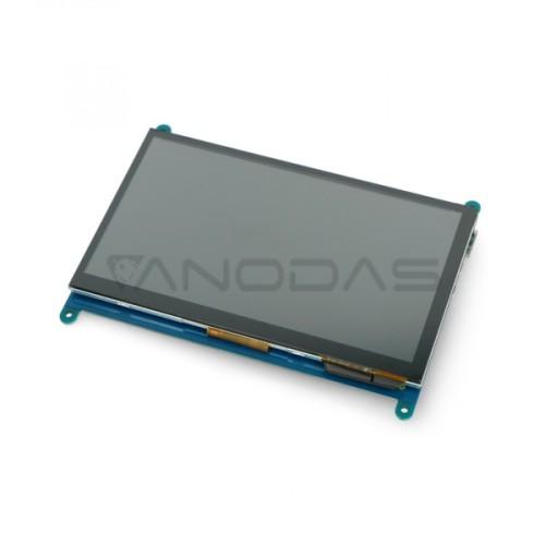 Jutiklinis Ekranas Raspberry Pi Mikrokompiuteriui - LCD TFT 7.0