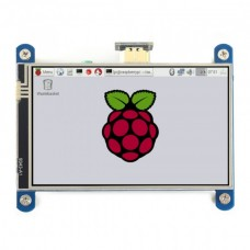 Waveshare Touch Resistive Screen for Raspberry Pi Microcomputer - LCD 4'' (H)