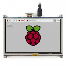 Resistor Touch Screen for Raspberry Pi Microcomputer HDMI + GPIO - LCD TFT 5