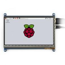 Varžinis jutiklinis ekranas Raspberry Pi Mikrokompiuteriui - LCD TFT 7