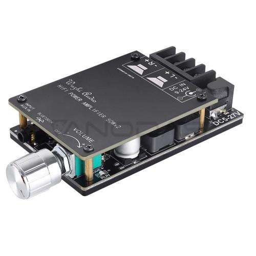 TPA3116D2 2x50W 2 Kanalų Stereo Garso Stiprintuvas su Bluetooth