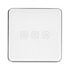 3-channel touch wall switch Tuya LS3 ZigBee
