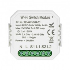 Tuya RS2 relay 230V WiFi