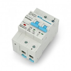 Power switch WiFi Tuya RTX CB16 2P 2x 16A