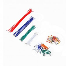 Breadboard Jumper Wire Cord Kit (140 Pieces)