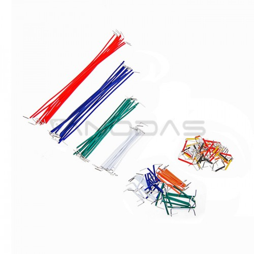 Breadboard Jumper Wire Cord Kit (140 Pieces)