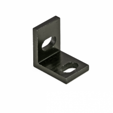 Universal L Bracket (Single) - Black Anodized