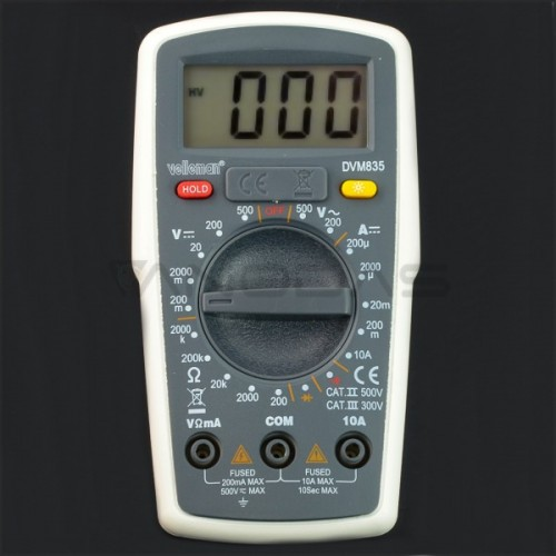 Universalus multimetras Velleman DVM835