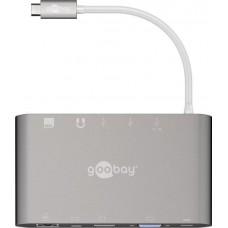 USB Type-C keitiklis naudojamas su periferiniais įrenginiais ir prietaisais bei SD ir Micro SD kortelėmis