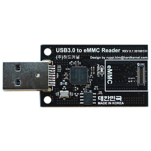 Odroid - USB 3.0 modulis skirtas įrašyti duomenis į eMMC atmintį