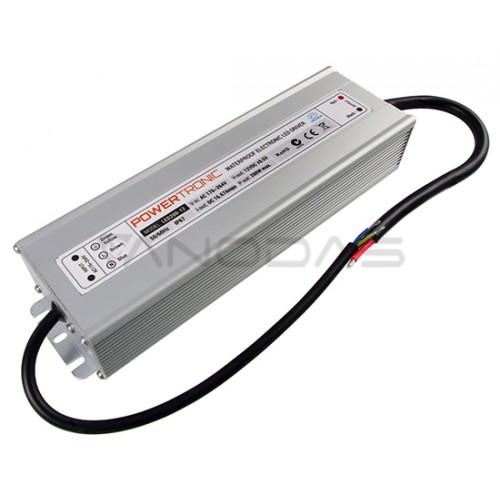 Uždaras maitinimo šaltinis 200W 12V 16.6A IP67