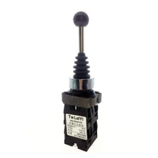 Joystick manipulator XP2-PA24 4-position monostable switch