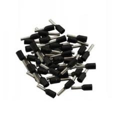 Vamzdelio formos jungtys 1.5mm2 100vnt - juoda