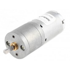 DC Motor JGA25-370 12V 37RPM with Gearbox
