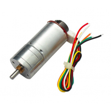 JGA25-370 DC Gear motor with Speed Encoder 6V 100RPM